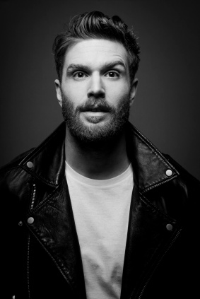 JOEL DOMMETT Leather jacket 2016 - Credit Matt Crockett